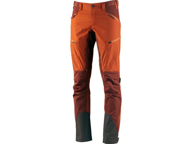 Lundhags Makke Pantalones Hombre, amber/rust